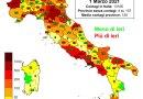 Coronavirus. In Italia l'1 marzo nelle ultime 24 ore i nuovi contagi sono 13.114, i decessi sono 246