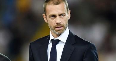 """Ceferin """"Ora ricostruire l'unità del calcio europeo e avanti insieme"""""""