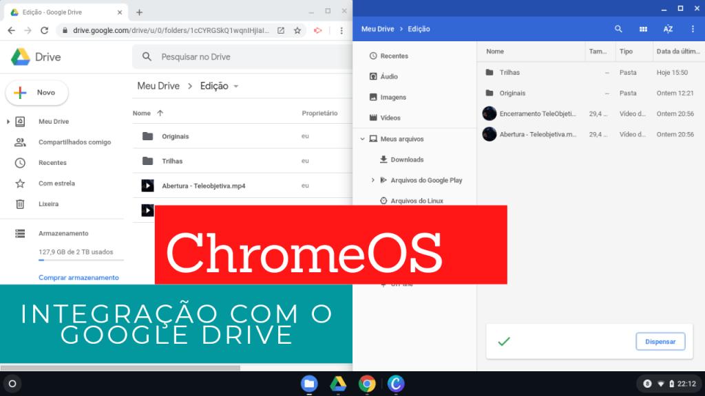 ChromeOS#3 - Integração com o Google Drive