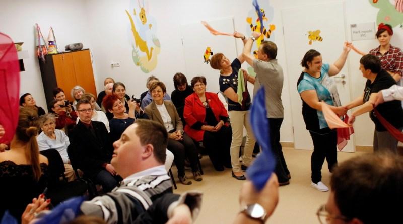 Névadó ünnepség az ellátóházban. Fotó: Molnár Gyula/Paksi Hírnök