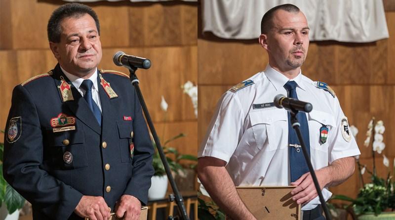 Sarkadi Ferenc és Joó Endre. Fotó: Babai István/Paksi Polgármesteri Hivatal
