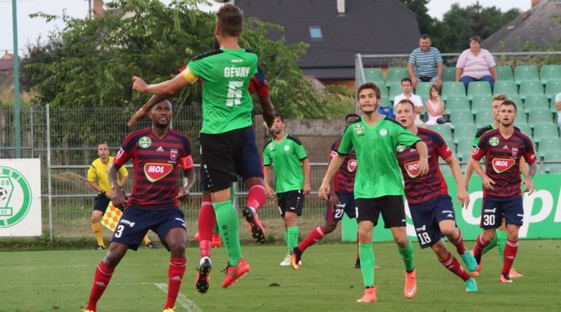 A Paksi FC a Videoton ellen mérkőzött. Fotó: Molnár Gyula/Paksi Hírnök