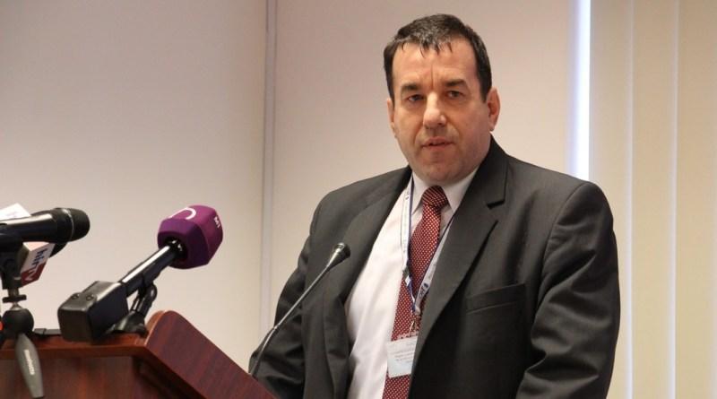 Vincze Árpád az Országos Atomenergia Hivatal osztályvezetője. Fotó: Vida Tünde/Paksi Hírnök