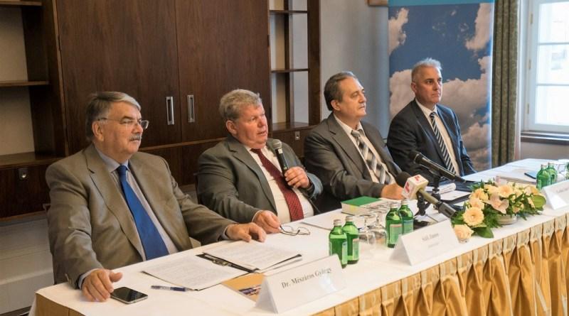 Süli János miniszter sajtótájékoztatón beszélt Paks II. aktualitásairól. Fotó: Babai István/Paksi Hírnök