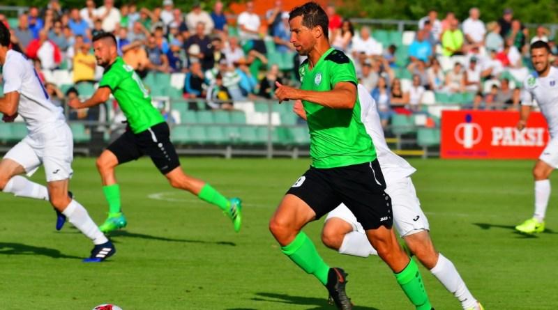 Az Újpestet fogadta a Paksi FC a bajnokság első fordulójában. Fotó: Molnár Gyula/Paksi Hírnök