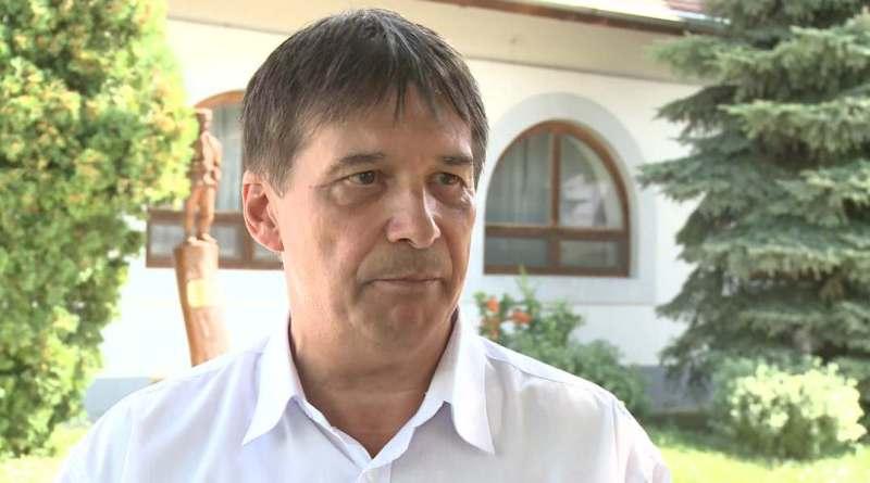Mezősi Árpád polgármesterjelölt. Fotó: TelePaks