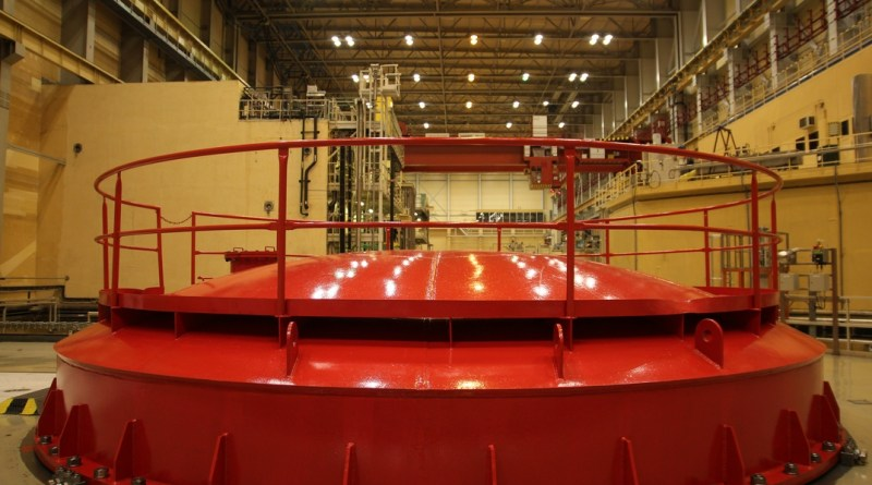 A Paksi Atomerőmű reaktorcsarnoka. Fotó: Vida Tünde