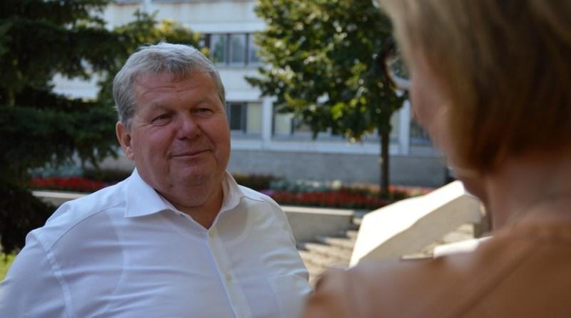 Süli János sajtótájékoztatója. Fotó: Szaffenauer Ferenc