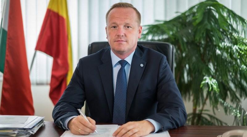 Szabó Péter, Paks polgármestere. Fotó: Babai István/archív