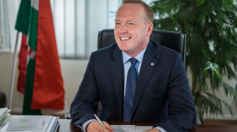 Paks új polgármestere Szabó Péter. Fotó: Babai István