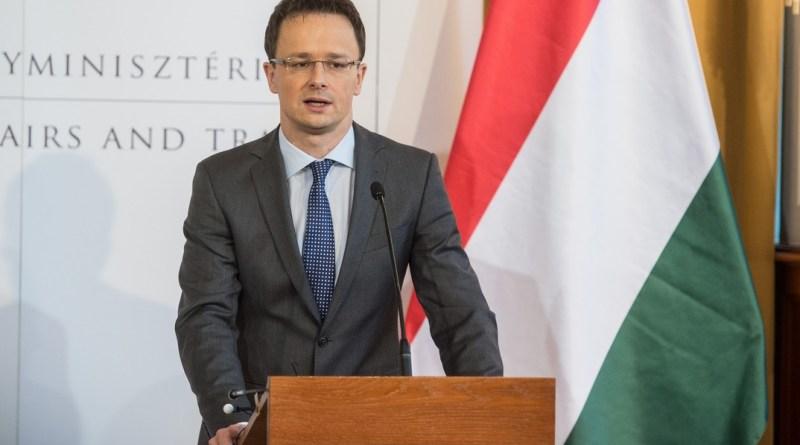 Szijjártó Péter. Fotó: kormany.hu