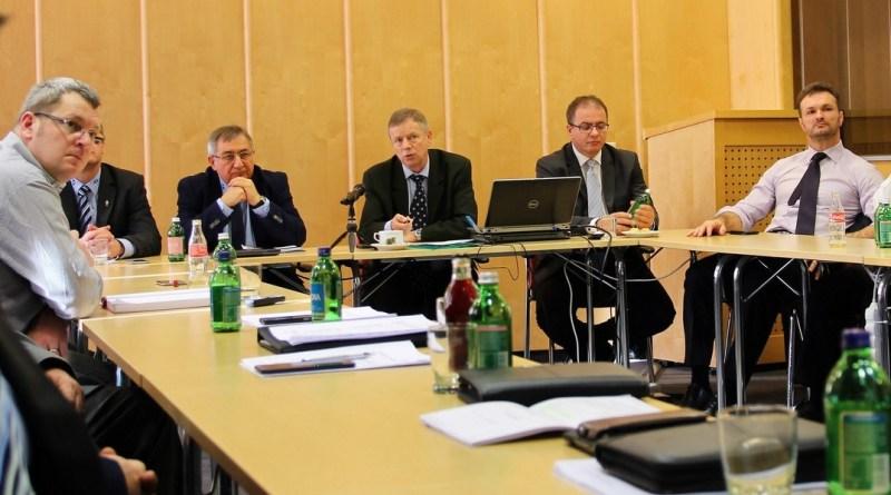 TEIT ülés az atomerőmű vezetői részvételével. Fotó: Vida Tünde/Paksi Hírnök