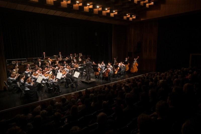 A Pannon Filharmonikusok. Fotó: Babai István/Paksi Polgármesteri Hivatal