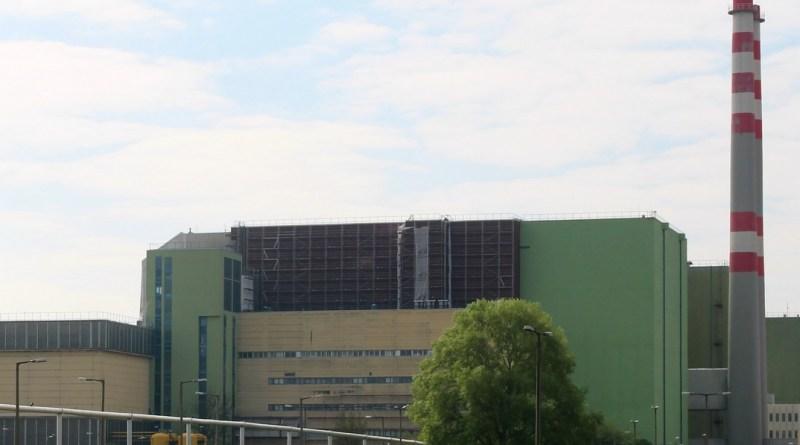 Az atomerőmű IV. blokkjának épülete. Fotó: Paksi Hírnök