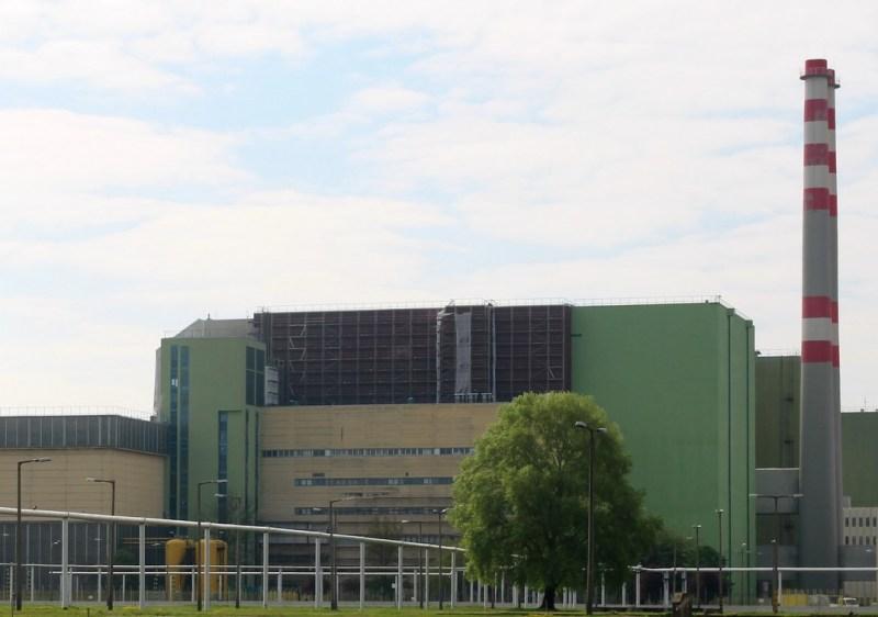 Az atomerőmű IV. blokkjának épülete. Fotó: Vida Tünde
