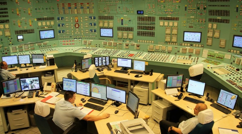 A Paksi Atomerőmű vezénylőterme. Fotó: Paksi Hírnök archív