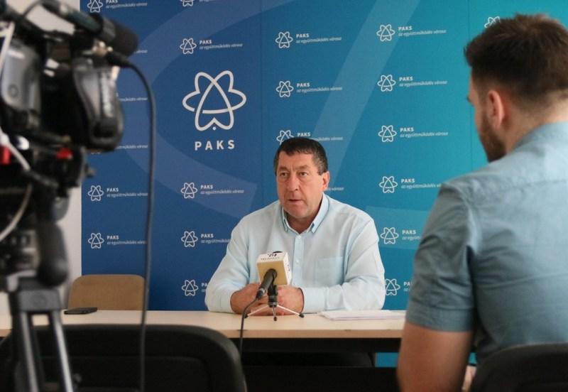 Dr. Blazsek Balázs, a Helyi Választási Iroda vezetője. Fotó: Molnár Gyula/Paksi Hírnök