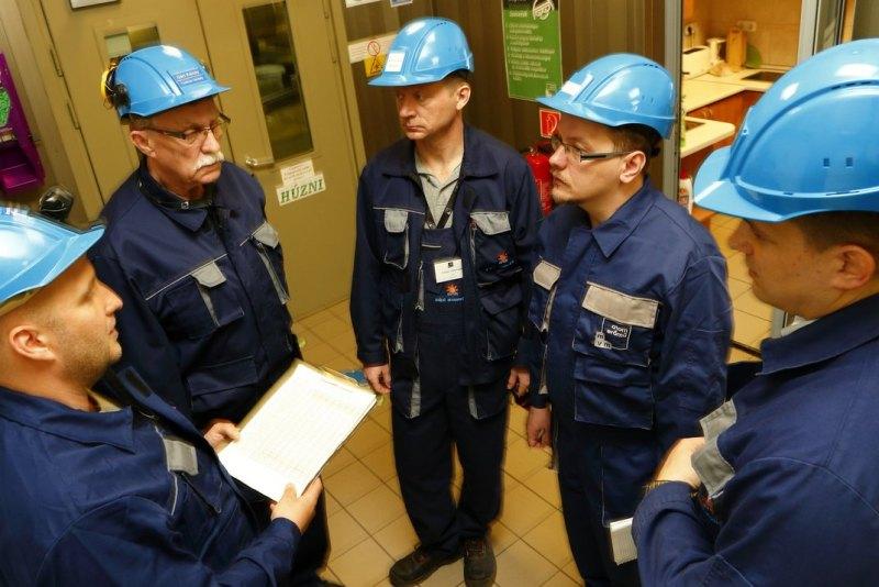 WANO vizsgálócsoport a Paksi Atomerőműben. Fotó: Bodajki Ákos