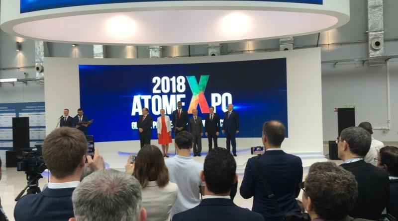 A 10. Atomexpo megnyitója Szocsiban. Fotó: Vida Tünde