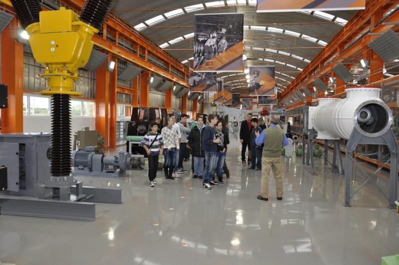 Látogatás az Atomenergetikai Múzeumban. Fotó: Babai István/Paksi Polgármesteri Hivatal archív