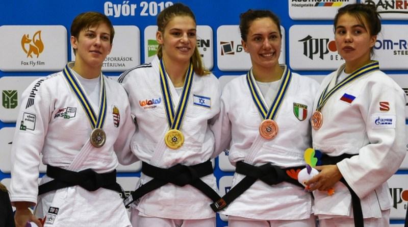 Pupp Réka, az Atomerőmű SE sportolója (b.). Fotó: judoinfo.hu