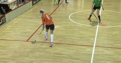 Floorball országos elődöntő zajlott az ESZI sportcsarnokban