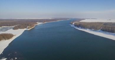 A Duna télen. A kép illusztráció. Fotó: Babai István/Paksi Polgármesteri Hivatal/archív felvétel