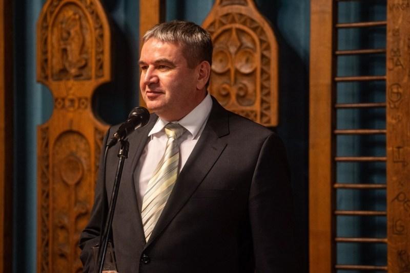 Bana János, Paks alpolgármestere. Fotó: Babai István/Paksi Polgármesteri Hivatal