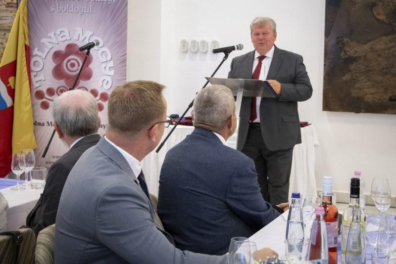 Süli János miniszter a Pakson tartott Megyenapon. Fotó: Paks II. Zrt.