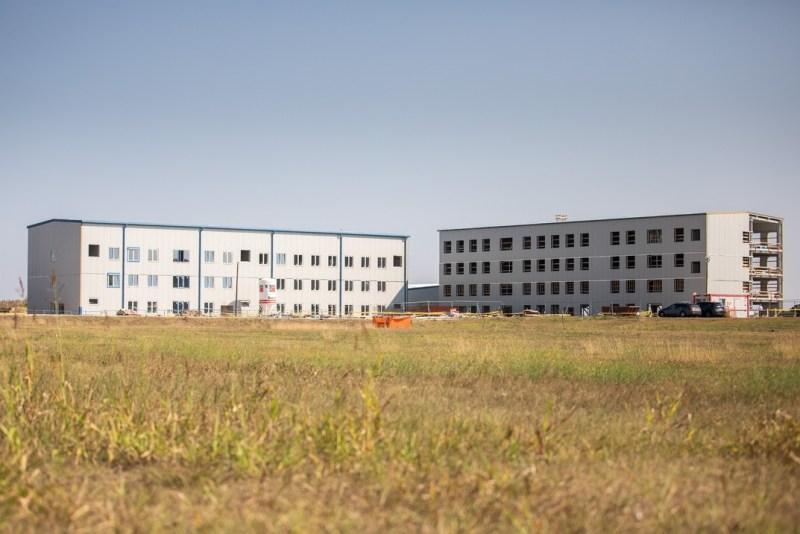 Fővállalkozói és megrendelői irodaépület. Fotó: Paks II. Zrt.