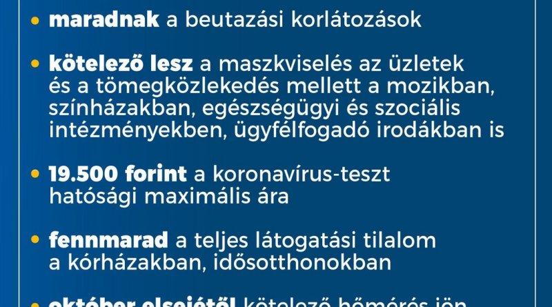 Forrás: Magyarország Kormánya Facebook-oldal