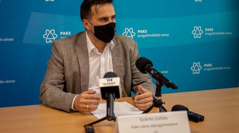 Szántó Zoltán, Paks alpolgármestere. Fotó: Szép Zsóka/TelePaks