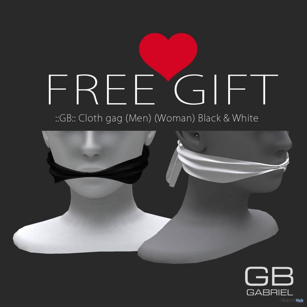 Cloth Gag Unisex Kinky Event March 2017 Round Gift By