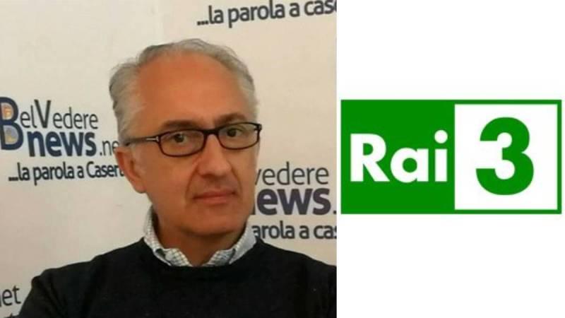 Caserta. Il Sindaco Carlo Marino in diretta Rai3