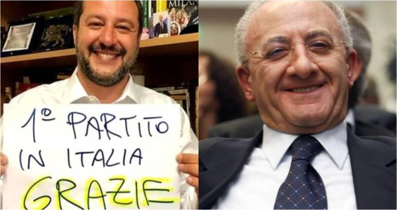 Elezioni Europee 2019. Vince Salvini e forse De Luca