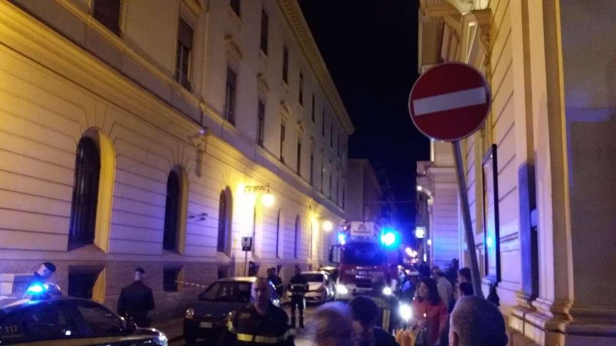 VIA DON BOSCO   Tragedia sfiorata a Caserta
