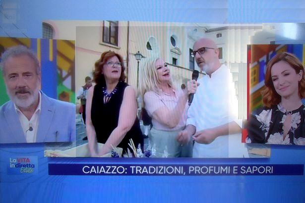 Caiazzo. Da piazza ex Verdi a 'La Vita in diretta RAI' sugli scudi il 're della pizza'Franco Pepe
