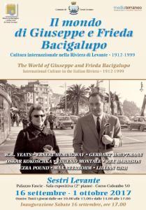 """Mostra """"Il mondo segreto di Giuseppe e Frieda Bacigalupo"""" @ Musel Sestri Levante"""