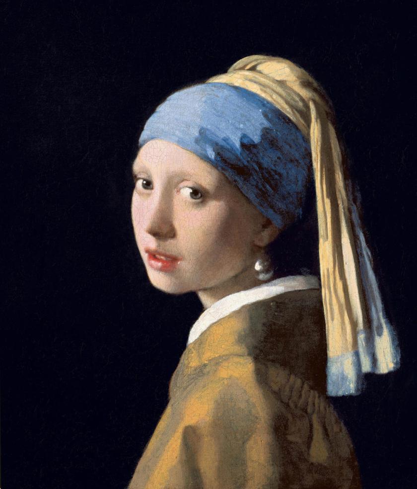 La Jeune Fille à la perle, de Johannes Vermeer de Delft (1632-1675). MuséeMauritshuisde La Haye.