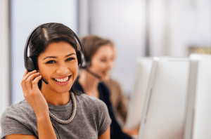 personalize customer service telerep