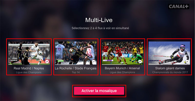 myCanal   le multi live op    rationnel sur Apple TV mycanal multilive selection jpg
