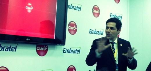 Carlos Zenteno, presidente de Claro Brasil. Imagen: Lucas Ledesma, TeleSemana.com.