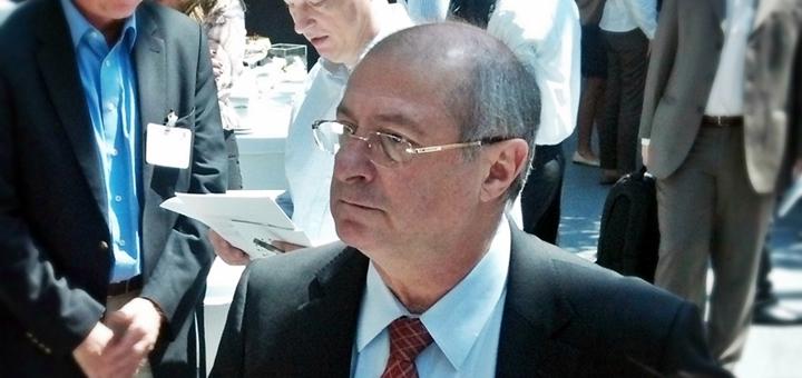 Paulo Bernardo, ministro das Comunicações de Brasil. Imagen: Lucas Ledesma/TeleSemana.com
