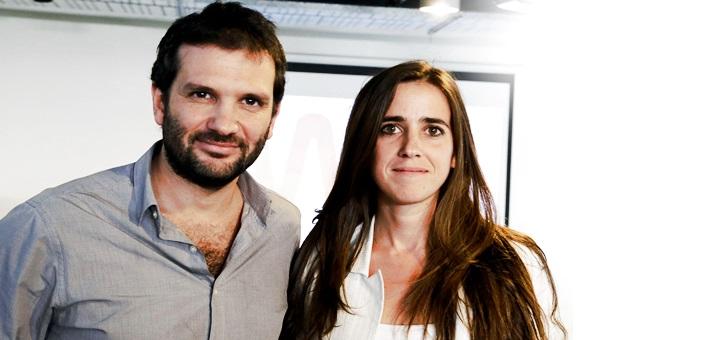 Andrés Saborido, CEO de Wayra España, y Lorena Suárez, country manager de Wayra Argentina. Imagen: Wayra.