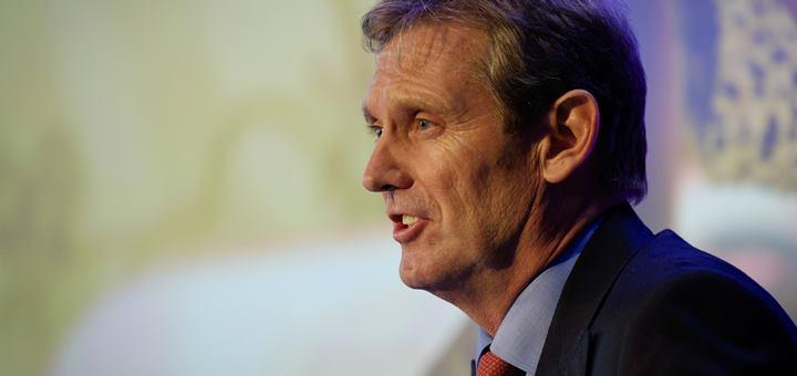 Phil Bentley en la reunión anual general, en Londres. Imagen: Frantzesco Kangaris / Visual Media