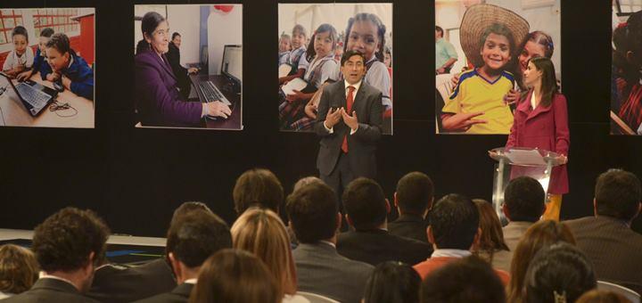 Diego Molano Vega en la Audiencia de Rendición de Cuentas. Imagen: Mintic