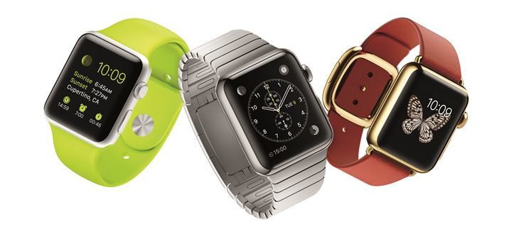 Apple Watch. Imagen: Apple