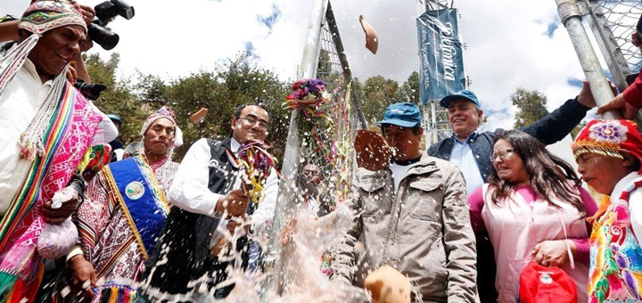 Imagen:Inauguración de base móvil en Pucartambo/telefónica