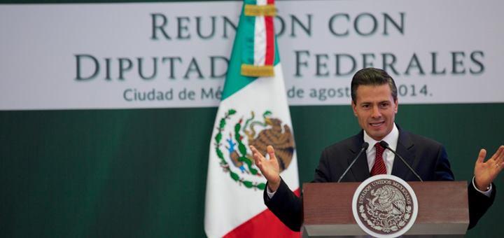 Presidente Enrique Peña Nieto. Imagen: Presidencia México