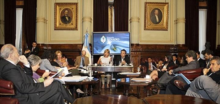 Comisión de Medios de Comunicación, Sistemas y Libertad de Expresión del Senado. Imagen: Secom